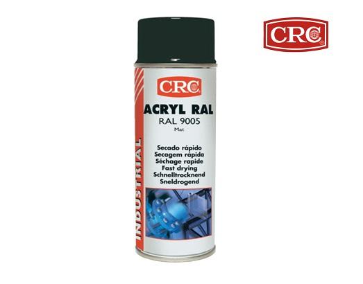 Acrylspray 400ml RAL 9005 Gitzwart zijdemat CRC 31075