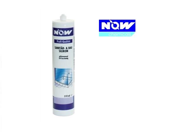 Sanitair-bouwsiliconen Wit Now 310ml cartridge