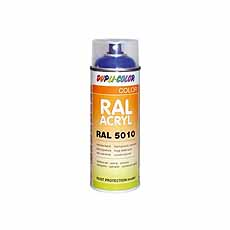 Acryl spray DUPLI-COLOR RAL 9005 gitzwart mat 400 ml Motip 07164