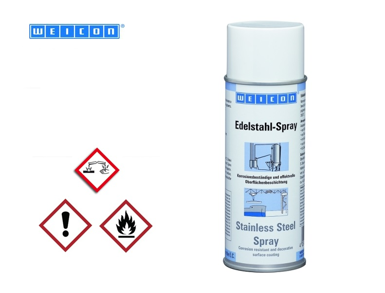 WEICON Roestvrij-Staal Spray 400 ml