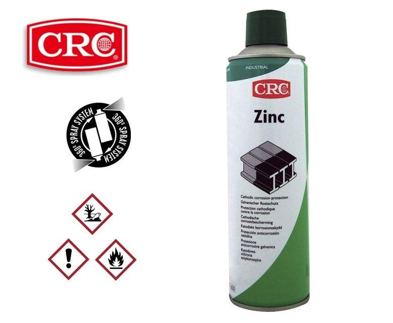 CRC Zinkspray 400ml silver matt