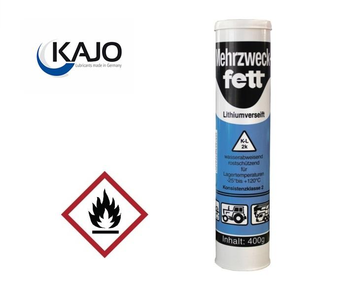 Multifunctioneel vet 400g waterbestendig licht -25/+125gr.C gaspatroon