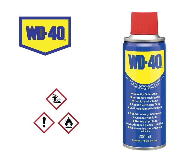 WD40 200ml Multispray