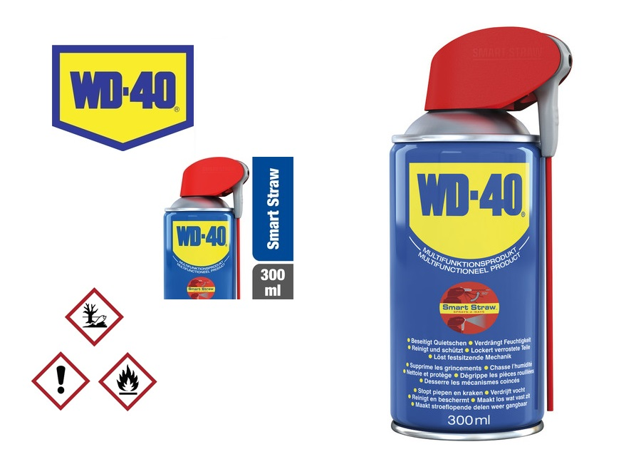 WD40 300ml Multispray Smart Straw