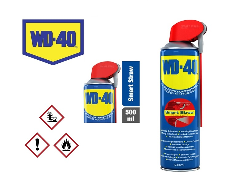 WD40 500ml Multispray Smart Straw