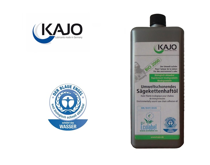 kettingolie Bio 76 mm²/s 1 ltr.
