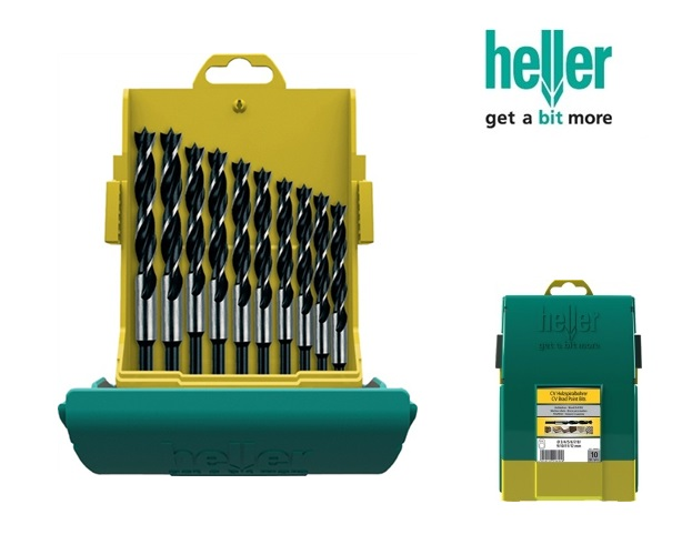 Set houtspiraalboren 10-delig, 3,4,5,6,7,8,9,10,11,12mm