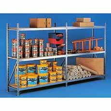 Startsectie Verzinkt GF 1400x650x2200 Meta Mini-rack 51223