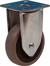 Bokwiel 50mm LG.G Verzinkt rubberwiel