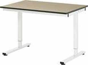 Werktafel RHE 1250 x 800 MDF-Plaat stelvoeten