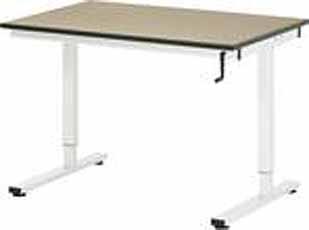 Werktafel RHE 1250 x 800 MDF-Plaat spindel