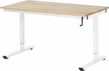 Werktafel RHE 1250 x 800 Beuken-Plaat spindel