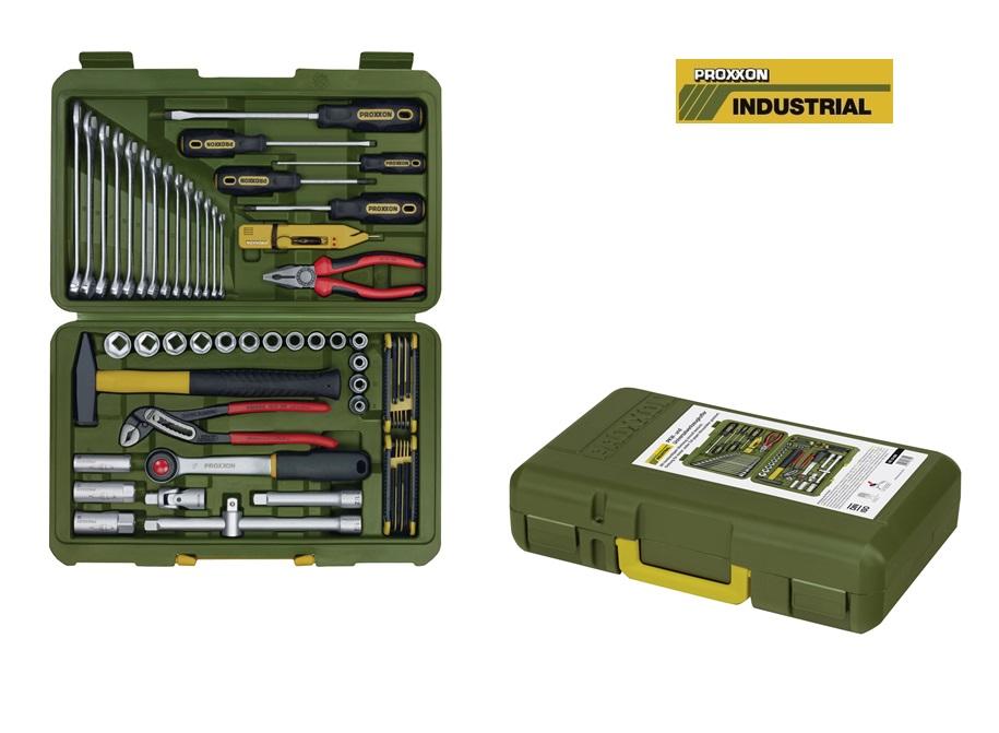 Proxxon Gereedschapsset in koffer 47-delig
