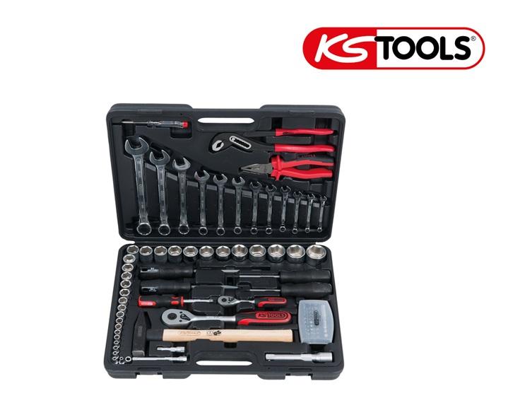 KS Tools multigereedschap set (88 stuks 1/4-Inch+1/2-Inch)