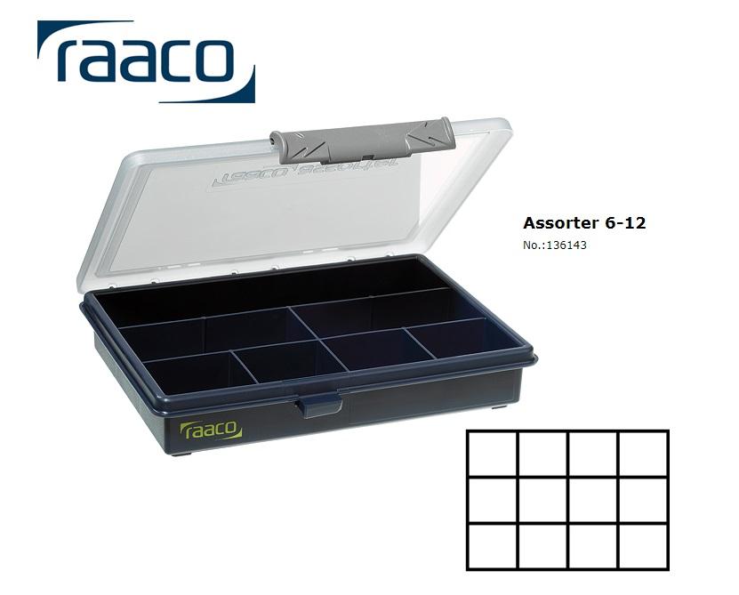 Raaco Assorter 6-12 Assortimentsdoos 32 x 175 x 143mm