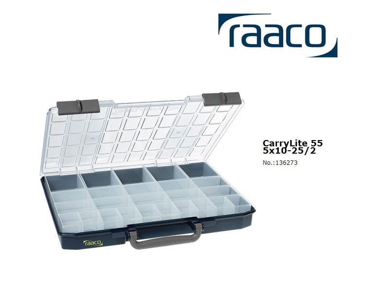 Raaco Sorteerdoos Carry-Lite 55 5x10-25/2