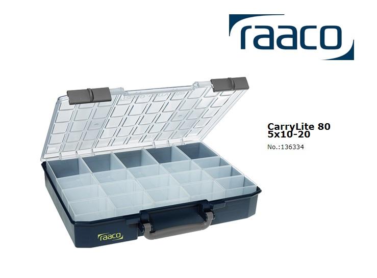 Raaco Sorteerdoos Carry-Lite 80 5x10-20