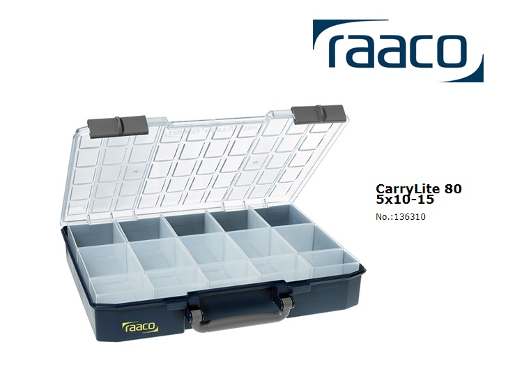 Raaco Sorteerdoos Carry-Lite 80 5x10-15