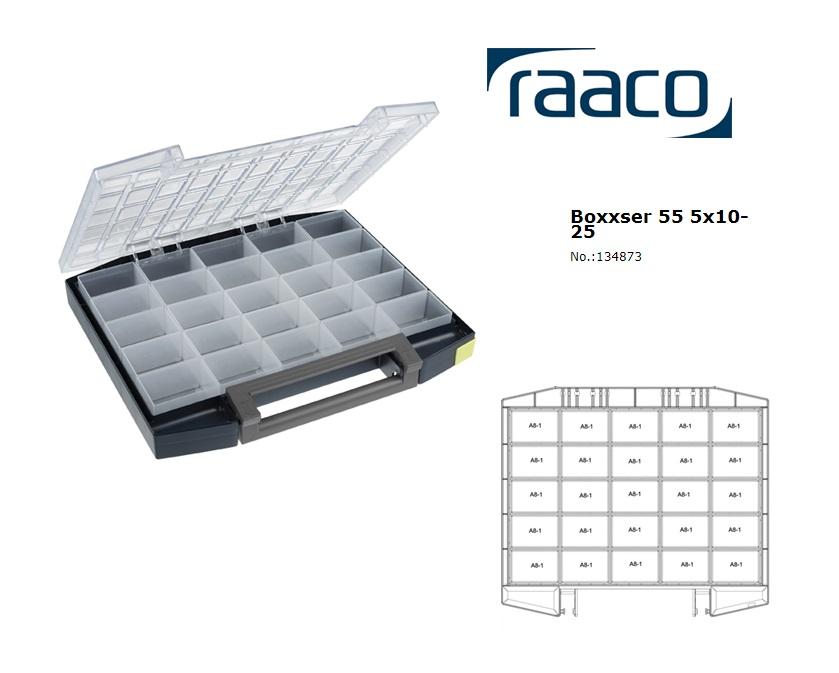 Raaco Boxxser 55 5x10-25 Assortimentsdoos 421x361x55mm