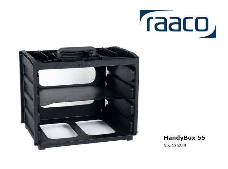 Raaco HandyBox 55, empty 310 x 376 x 265mm