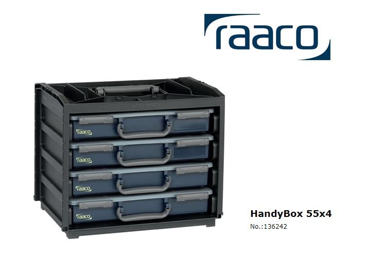Raaco HandyBox 55x4 310 x 376 x 265mm