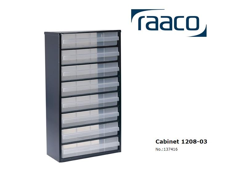 Raaco Lademagazijn Type 1208-03 8 blauw