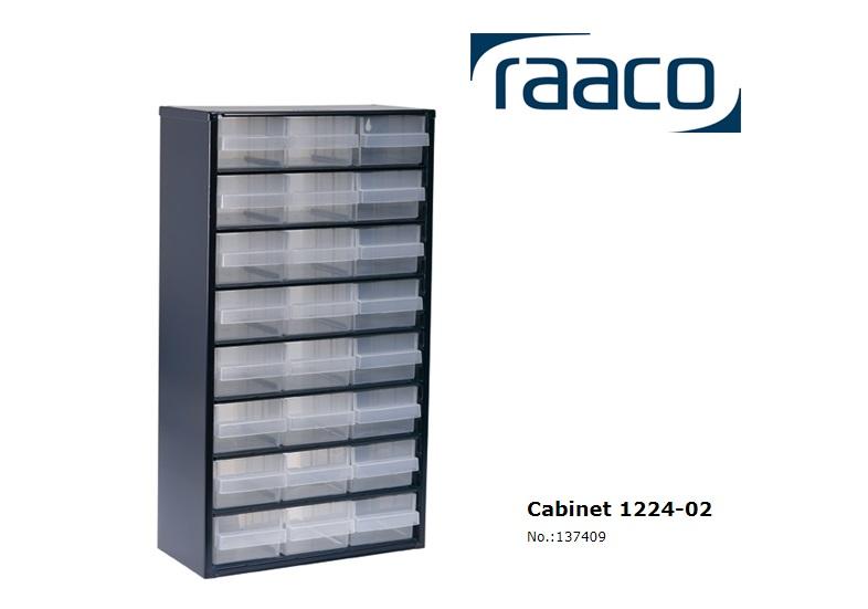 Raaco Lademagazijn Type 1224-02 24 blauw