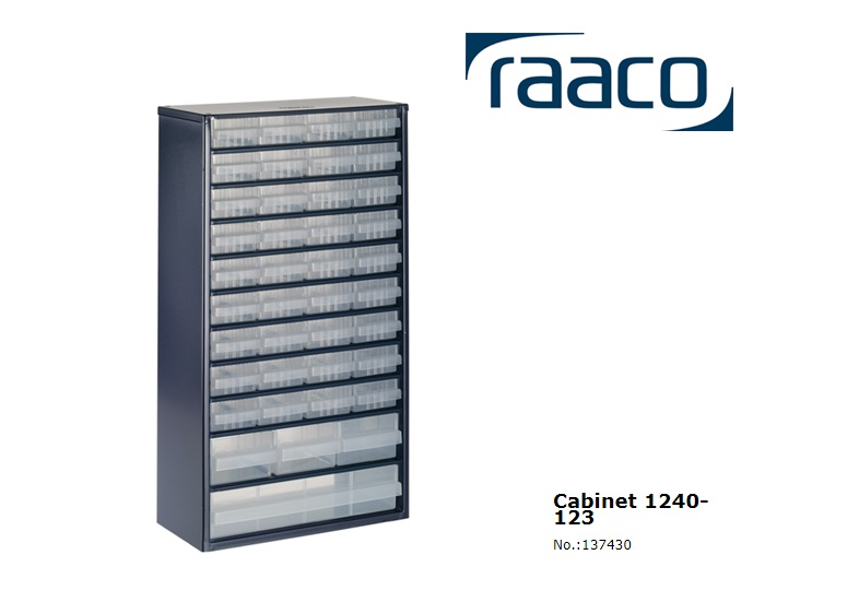 Raaco Lademagazijn Type 1240-123 40 blauw