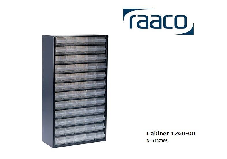 Raaco Lademagazijn Type 1240-123 60 blauw