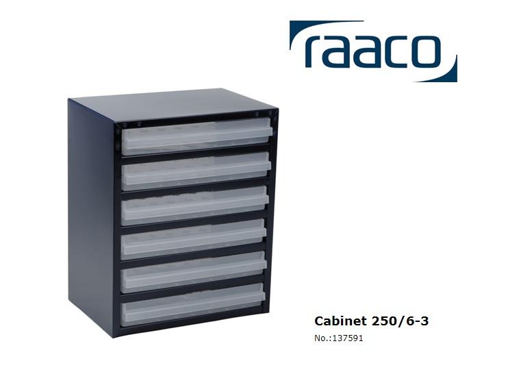 Raaco Lademagazijn Type 250/6-3 357x255x435mm