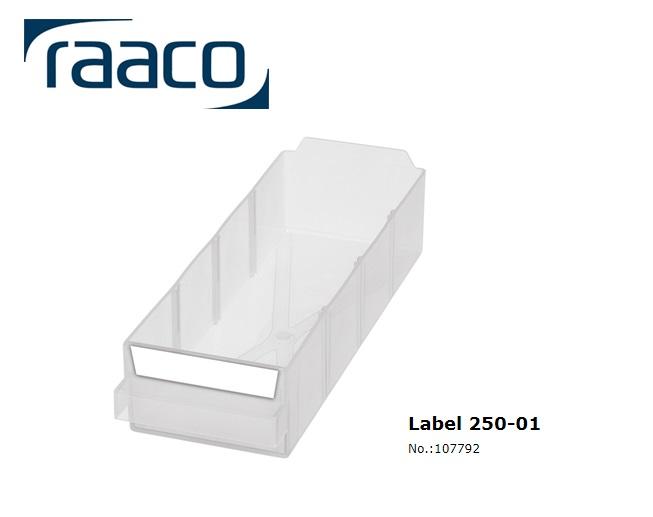 Etiket 250-01 24 stuks 75x15mm