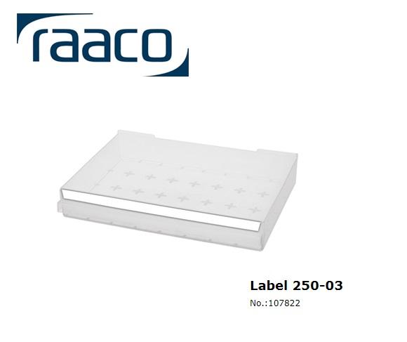 Etiket 250-03 6 stuks 315x15mm