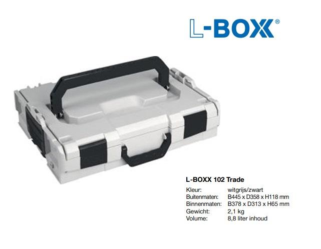 L-BOXX 102 Trade 445 x 358 x 117 mm