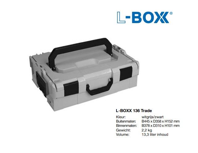 L-BOXX 136 Trade 445 x 358 x 152 mm
