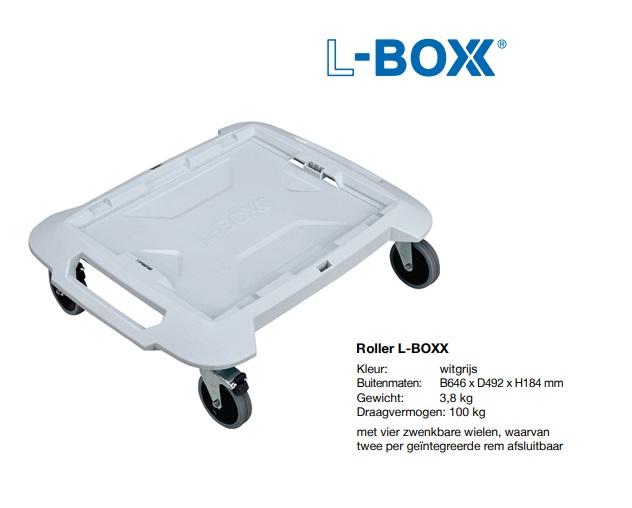 Roller L-BOXX 646x492x184mm