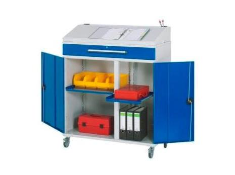 Lessenaar 1100 x 520 x 1200 A7-1100-M02-F Mobiel