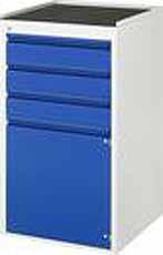 Schuifladenkast 580 x 650 x 1035 A3 L7.2-MT Metalen Top