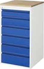 Schuifladenkast 580 x 650 x 1035 A3-L7.6-B Beuken Top