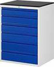 Schuifladenkast 770 x 650 x 1035 A3-XL7.6-M melamine-Top