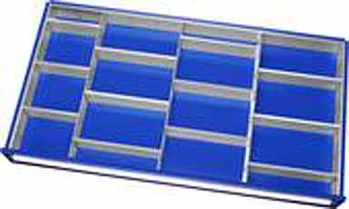 Inrichtings module 3 Staander- en 13 Steekwanden