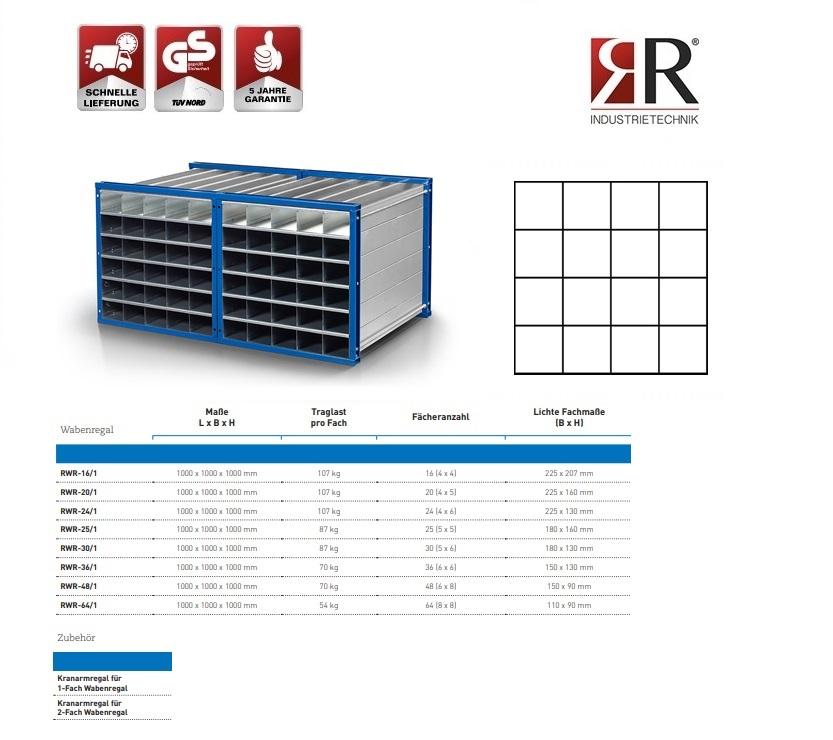 Insteekstelling RWR-16/1 RAL 5010