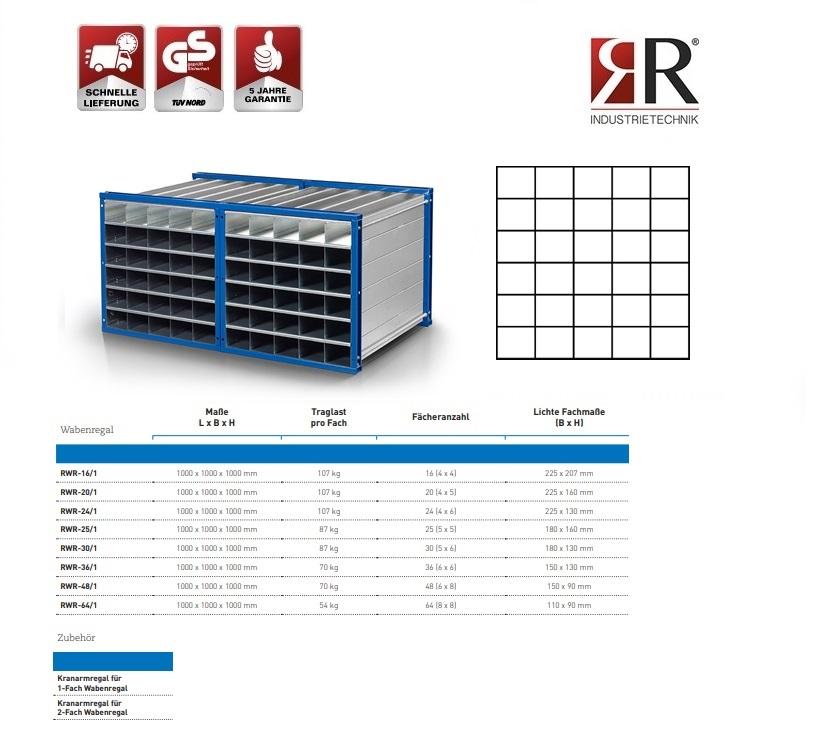 Insteekstelling RWR-30/1 RAL 5010