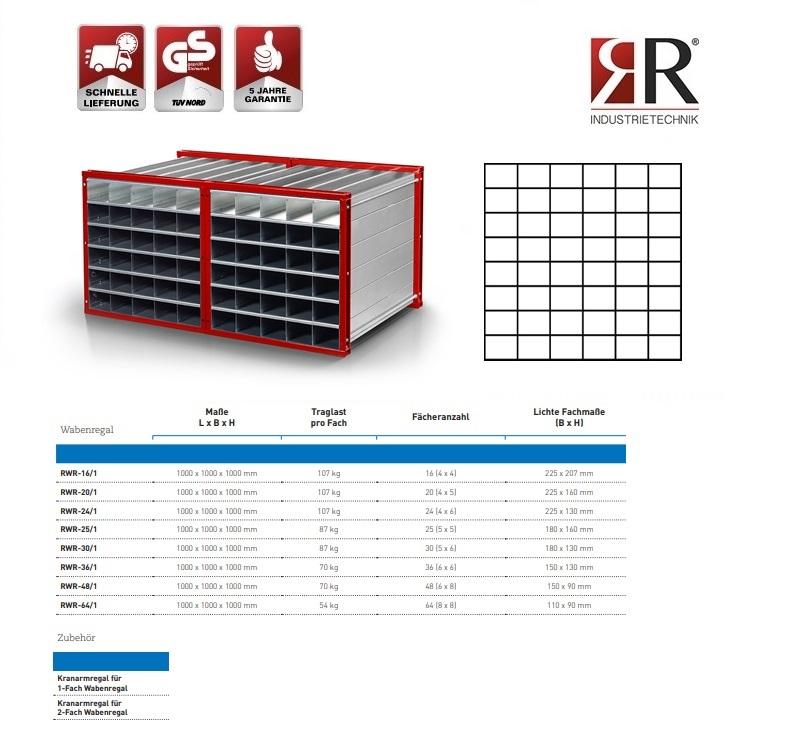Insteekstelling RWR-48/1 RAL 3000