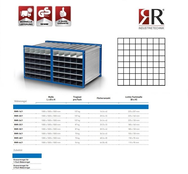 Insteekstelling RWR-64/1 RAL 5010