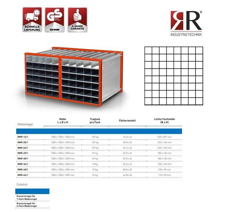 Insteekstelling RWR-64/1 RAL 2004