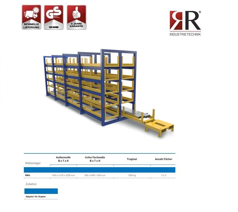 Langgoed materiaal stelling RWA