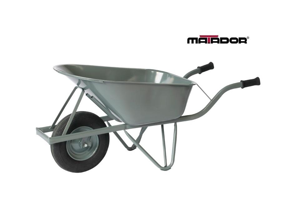 Kruiwagen 80 Liter versterkt lekvrij wiel M-120-CT Matador 10866