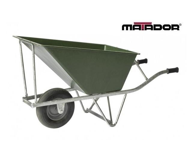 Landbouw kruiwagen M-140/160-2WI-L4 luchtbanden Matador 12150