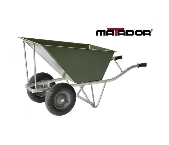 Landbouw kruiwagen M-140/160-2WI-CT lekvrije wielen Matador 12534