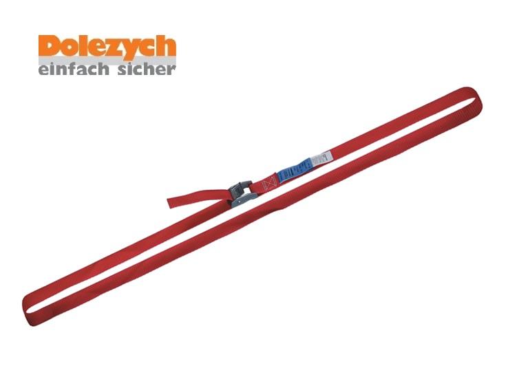 Spanband polyester eendelig met klemslot 4m 25mm 250 daN Din 12195-2